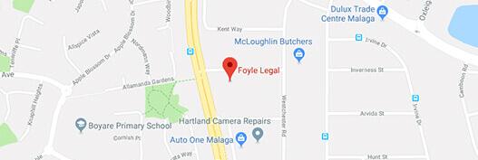 Foyle Legal location malaga office