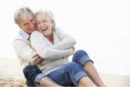 Couple happy together make a will in Perth